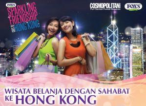 Wisata Belanja Dengan Sahabat Ke Hongkong