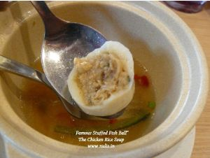 Menu di The crispy rice legoland malaysia