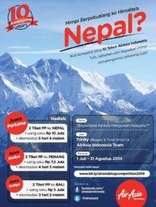 Kontes Blog Air Asia 2014