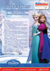 Frozen Selfie Contest (Alfamart)