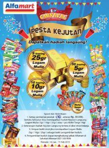 OT Carnaval,  Raih Puluhan Koin Emas!