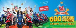 Undian Pop Mie Get Lucky 2015, Raih 5 Motor Setiap Hari!