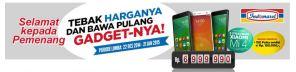 Pemenang Tebak Harga Indomaret (3 Xiaomi Mi4 & 150 Pulsa)
