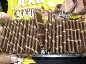Deka Crepes Choco Banana : Pisang Coklatnya Berasa Renyah!