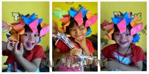 origami style aisha