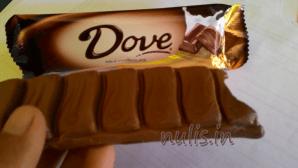 Coklat Dove : Lumayan Sih Tapi Sayang .....