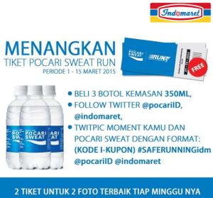 Menangkan Tiket Pocari Sweat Run Setiap Minggunya!