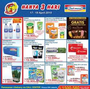 Promo Gratisan JSM Indomaret 17,18,19 April 2014
