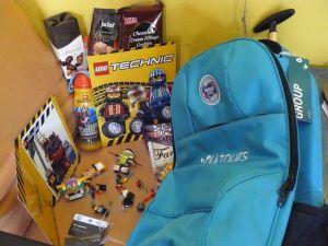 Goddie Bag & Paket Perjalanan : Hadiah Kids Go To Legoland Frisian Flag
