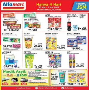 Promo JSM Alfamart  s/d 3 April 2015