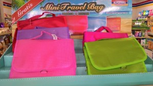 Gratisan Mini Travel Bag Indomaret