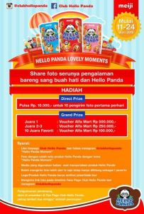 Hello Panda Lovely Moments Berhadiah Pulsa & Voucher Belanja