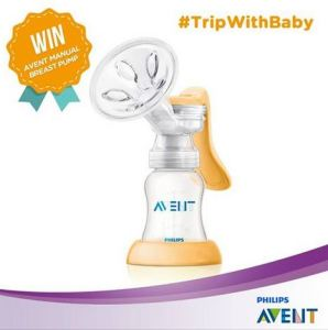 Trip With Baby Competition Berhadiah Avent Manual Breast Pump