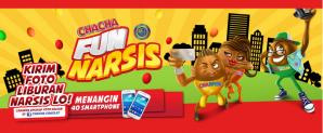 Cha-Cha Fun Narsis Berhadiah 40 Smartphone Keren