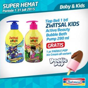 Beli Zwitsal Kids Gratis Padlle Pop (All Variant)