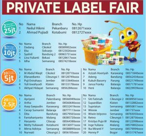 Private label fair