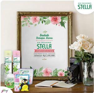 Ceritakan Pengalamanmu Menggunakan Stella, Raih Voucher Belanja!