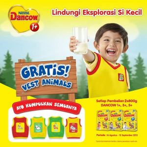 Gratis Vest Animals Dancow