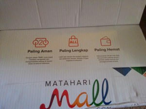 Packaging Matahari Mall : Super Keceh & Colourfull
