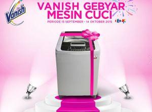 Vanish Gebyar Mesin Cuci Bersama Lottemart & Carrefour
