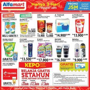 JSM Alfamart 02-04 Okt 2015 : Kali Ini Sangat Recommend