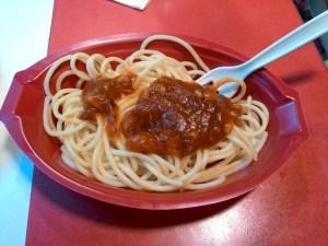 Spaghetti Deluxe KFC :  Prihatin Saucenya Kontras Dengan Gambar Iklannya