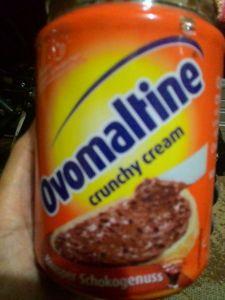 Ovomaltine Crunchy Cream : Selai Coklat Nyumi Crunchy