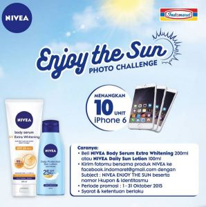 Enjoy The Sun Photo Contest Berhadiah 10 Unit Iphone 6