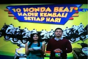 Pemenang 10 Honda Beat Sonice Tahap 2 (Hari Ke -1)