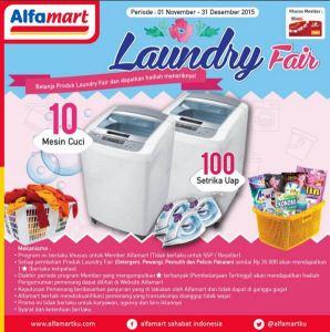 Laundry Fair Berhadiah Setrika Uap & Mesin Cuci
