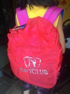 Navy Club Back Pack 3260 With Rain Cover : Tas Anti Hujan Dengan Harga Terjangkau