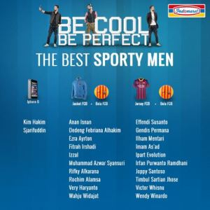 63 Pemenang Be Cool Be Perfect Indomaret