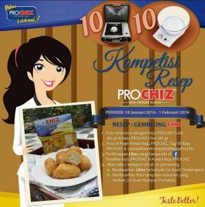 Kompetisi Resep Prochiz Berhadiah Kompor & Timbangan Digital
