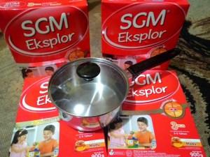 Beli 4 SGM Eksplor 1/ 3+ Gratis Sauce Pan Maspion