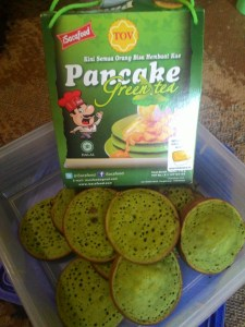 Pancake Green Tea Isacafood : Sudah Pahit Makin Pahit