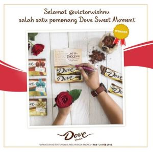 62 Pemenang Dove Sweet Moment