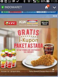 Beli Minute Maid Nutriboost Gratis Paket Astaga (CFC)