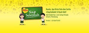 Ceritakan Moment Siap Sekolah Sibuah Hati Berhadiah Uang Tunai Jutaan Rupiah