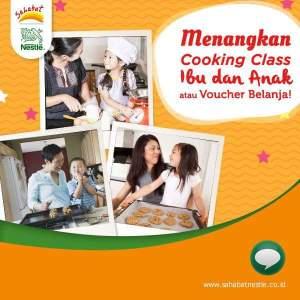 Masak Bareng SiKecil Berhadiah Cooking Class & Voucher Belanja