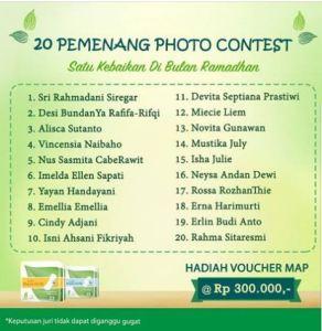 20 Pemenang Photo Contest Satu Kebaikan Di Bulan Ramadhan