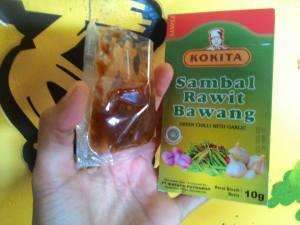 Kokita Sambal Rawit Bawang : Njleger Pedasnya!