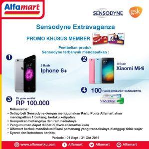 Point Belanja Sensodyne Berhadiah Iphone 6+