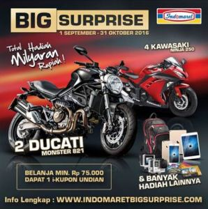 Big Surprise Indomaret Berhadiah Ducati