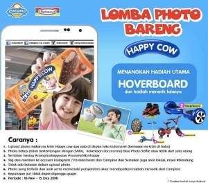 Lomba Foto Bareng Happy Cow Berhadiah Hoverboard