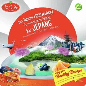 Undian Tarami Berhadiah TripKe Jepang