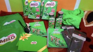 Hampers Milo : Hadiah Days Of Champions Level 1