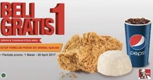 Promo KFC Super Besar Beli 1 Gratis 1