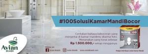 100 Solusi Kamar Mandi Bocor Avian Berhadiah Cash Money Setiap Minggunya