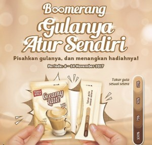 Video Boomerang Torabika Creammy Late Berhadiah Voucher MAP
