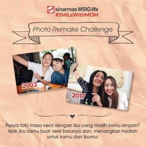 Photo Remake Challenge Berhadiah Total Sepuluh  Juta Rupiah